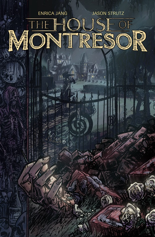 Cover art for The House of Montresor, by artist Jason Strutz