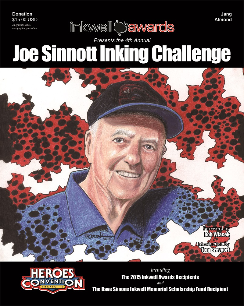 The 4thAnnual Joe Sinnott Inking Challenge and Results Book